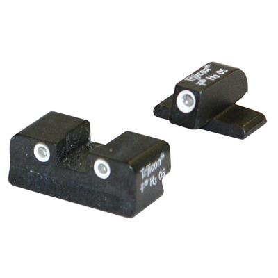Tritium Handgun Sights Sg03 Sig 220, 229 3-dot Trijicon Sight : Handgun Parts by Trijicon for Gun & Rifle