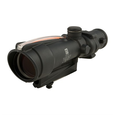 Trijicon Acog 3.5x35mm Rifle Scopes - 3.5x35 Red Donut .223 Ballistic Bac Matte Black