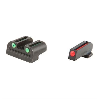 Truglo Sig Sauer Fiber Optic Brite-Site Sight Sets - Brite-Site Fiber Optic Sig #8/#8 Sight Set
