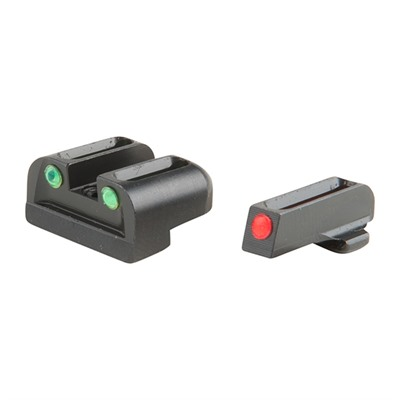 Truglo Xd/Xdm Fiber Optic Brite-Site Sight Sets - Brite-Site Fiber Optic Springfield Xd Sight Set