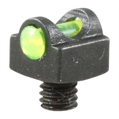 Truglo Shotgun Starbrite Deluxe Sight - 3-56 Thread, Green