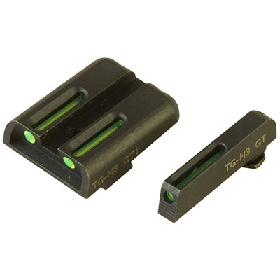 Truglo Tritium Fiber Optic (Tfo) Sight Sets For Glock - T.F.O. Grn Frt/Rear Glock 17,17l,19,22,23,24,26,27,33