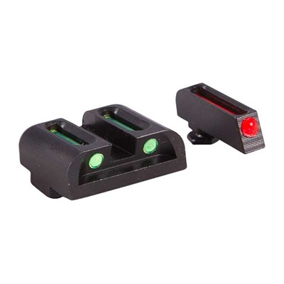 Truglo Fiber Optic Brite-Site Sight Sets For Glock - 131g2 Fo Brite-Site For Glock 20,21,29,30,31,32