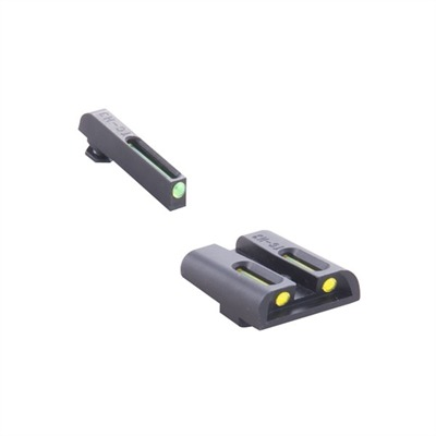 Truglo Tritium Fiber Optic (Tfo) Sight Sets For Glock~
