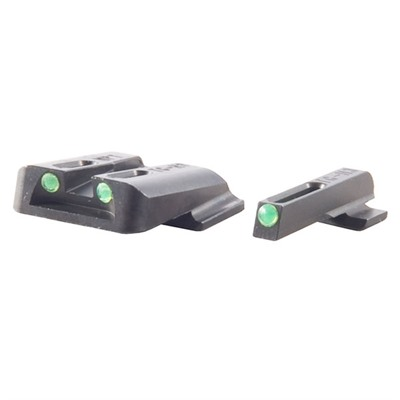 Truglo S&W M&P Tritium Fiber Optic (Tfo) Sight Sets - T.F.O. Brite-Site Fits S&W M&P Green/Green