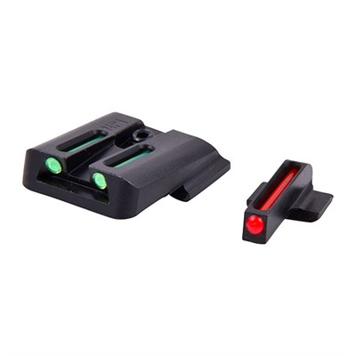 Truglo S&W M&P Fiber Optic Brite-Site Sight Sets - Brite-Site Fiber Optic S&W M&P Sight Set