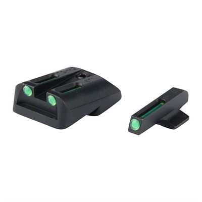 Truglo 1911 Tritium Fiber Optic (Tfo) Sight Sets - T.F.O. Brite-Site Fits 1911 Off/Comm 45 Green/Green