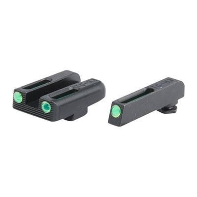 Tritium Fiber Optic (Tfo) Sight Sets For Glock~