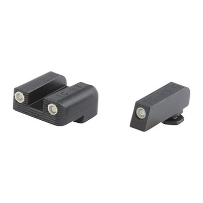 Truglo Tritium Brite-Site Night Sight Sets For Glock - Tritium Brite-Site Glock 42/43 Sight Set