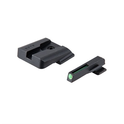 S&W M&P Tfo Front With Plain Black Rear Sight Set