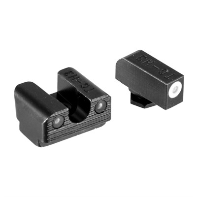 Truglo Glock Tritium Night Sight Sets - Tritium Pro Night Sight Set Glock 42/43