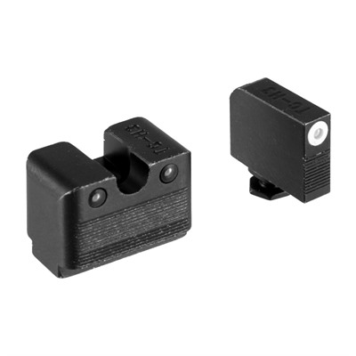 Truglo Glock Tritium Night Sight Sets - Tritium Pro Night Sight Set Glock Low Mos