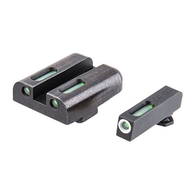 Truglo Tfx Tritium Fiber Optic Sight Sets For Glock - Truglo Tfx Handgun Sight-Glock Large Frame