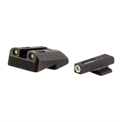 Truglo 1911 Tfx Tritium Fiber Optic Sight Sets Sights Fit 1911 5 Gov 45acp Low Mount 260 450