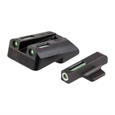 "Truglo 1911 Tfx Tritium Fiber Optic Sight Sets Sights Fit 1911 5"" Gov 9mm/40s&W Low Mount .270/450 Online Discount"