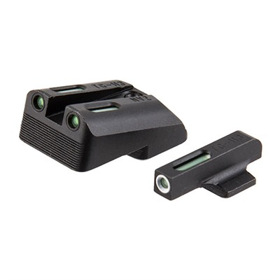 Truglo 1911 Tfx Tritium Fiber Optic Sight Sets - Sights Fit 1911 Off & Comm 9mm/40s&W Low Mount .270/.500
