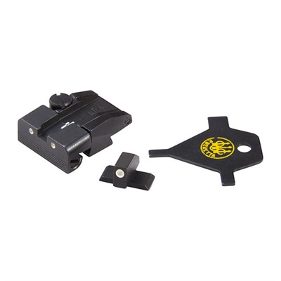 Beretta Usa Px4 Adjustable Front And Rear Sight