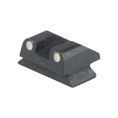 Rear Sight White Dots  F&G, Height 7.1