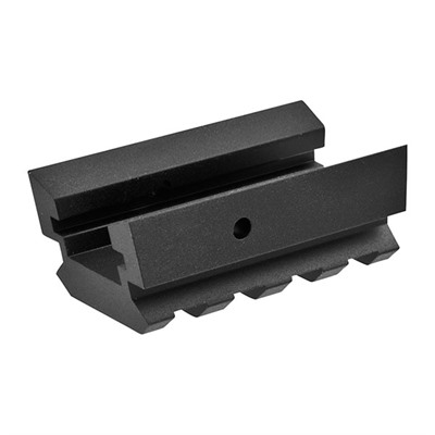 Direct Thread Short Lower Rail Picatinny Aluminum Black