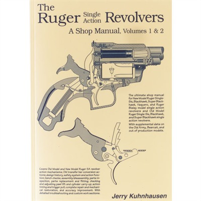 Heritage Gun Books Ruger Single Action Revolvers Shop Manual