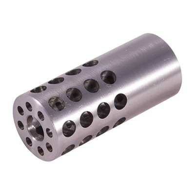 Vais Muzzle Brake 30 Caliber - Muzzle Brake 30 Caliber 5/8-32 Chrome Moly Silver
