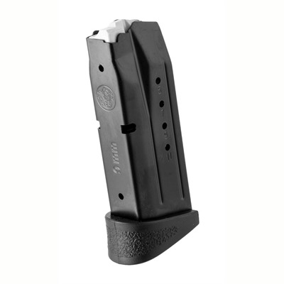 Smith & Wesson M&P Compact Magazine 9mm Black - M&P Compact Magazine 9mm 12rd W/Finger Ridge