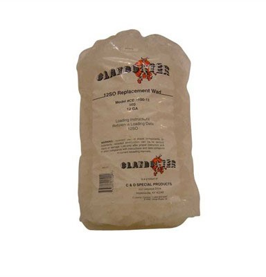 J-Ron 12so 12 Gauge Claybuster Wad 7/8 To 1-1/8oz - 12 Gauge 7/8 To 1-1/8oz Wads Blue 500/Bag