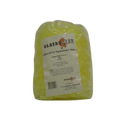 J-Ron Waa12f114 12 Gauge Claybuster Wad 1-1/8 To 1-1/4oz - 12 Gauge 1-1/8 To 1-1/4oz Wads Yellow 500/Bag