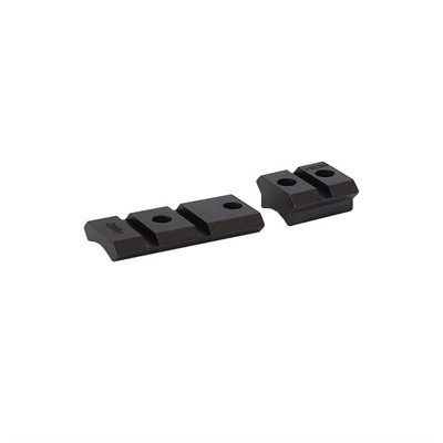 Warne Mfg. Company Maxima 2-Piece Steel Bases - Mauser Fn 98, 98 Altered Ext. Front, Matte