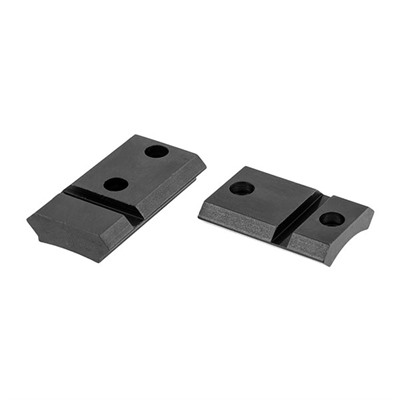 Warne Mfg. Company Maxima 2-Piece Steel Bases - Rem 700, Howa 1500 Ext. Front, Gloss