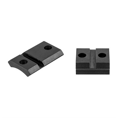Warne Mfg. Company Maxima 2-Piece Steel Bases - Rem Model 7 Ext. Front, Matte
