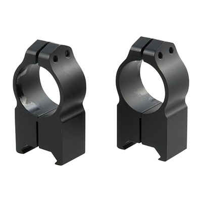 Warne Mfg. Company Magnum Special Application Maxima Rings - Maxima Fixed Rings 1 Inch Extra-High Matte