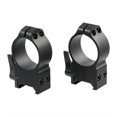 Warne Mfg. Company Maxima Quick Detach Rings - Maxima Qd Rings 30mm Extra-High Matte