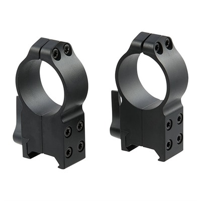 Warne Mfg. Company Maxima Quick Detach Rings - Maxima Qd Rings 30mm Ultra-High Matte