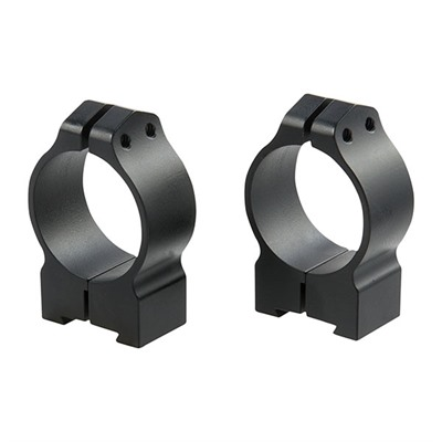 Warne Mfg. Company Maxima Grooved Receiver Cz Rings - Grl Cz 527 Rings 30mm Medium Matte