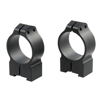 Warne Mfg. Company European Dovetail Maxima Rings - 16mm Brno/Cz-Base Permanent Rings, 30mm/High, Matte