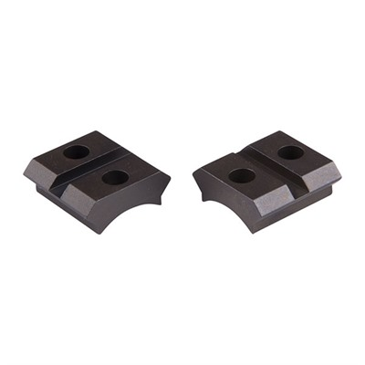 Warne Mfg. Company Maxima 2-Piece Steel Bases - Anschutz/Savage Mark Ii/Savage 93r17 2-Piece Base, Matte