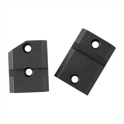 Warne Mfg. Company Maxima 2-Piece Steel Bases - Mauser 98 Unaltered Ext. Front, Matte