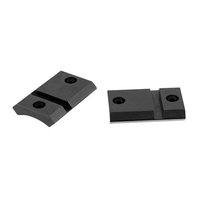 Warne Mfg. Company Maxima 2-Piece Steel Bases - Savage Round Rear/Axis/Edge Extended, Matte