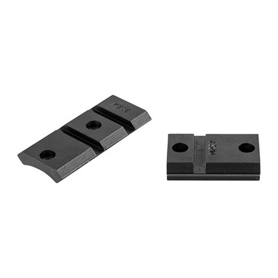 """Warne Mfg. Company Maxima 2 Piece Steel Bases Win 70 .860"""" Rear Spacing Ext. Front Matte USA & Canada"""