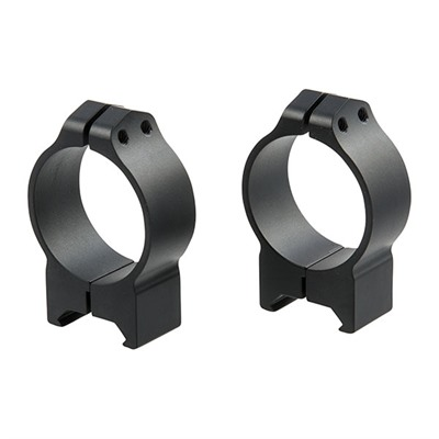 Warne Mfg. Company Maxima Fixed Rings 34mm Medium Fixed Rings Matte Black Online Discount