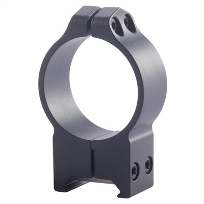 Warne Mfg. Company Maxima Fixed Rings - 34mm High Fixed Rings Matte Black