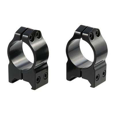 Warne Mfg. Company Maxima Fixed Rings 30mm High Fixed Rings Gloss Black Online Discount
