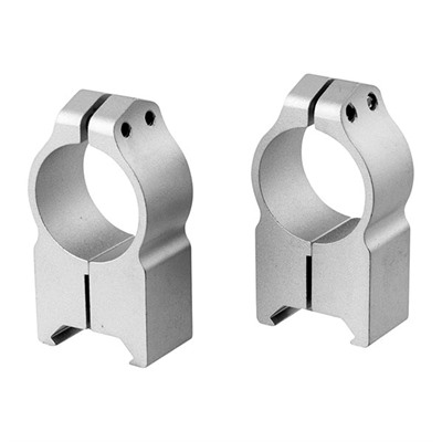 Warne Mfg. Company Magnum Special Application Maxima Rings Maxima Fixed Rings 1 Inch Extra High Silver Online Discount