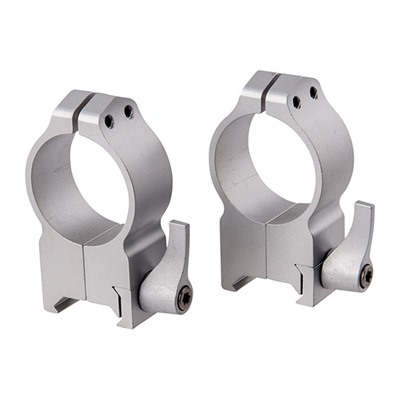 Magnum Special Application Maxima Rings - Maxima Qd Rings 30mm Extra-High Silver