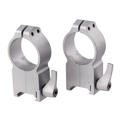 Magnum Special Application Maxima Rings - Maxima Qd Rings 30mm Ultra-High Silver