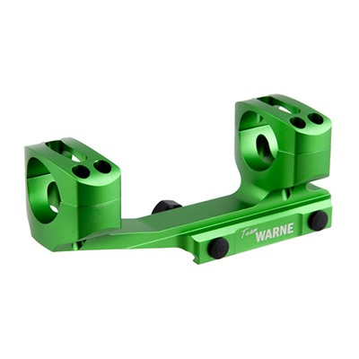 Warne Mfg. Company X-Skel Mounts - 30mm Cantilever Mount, Zombie Green
