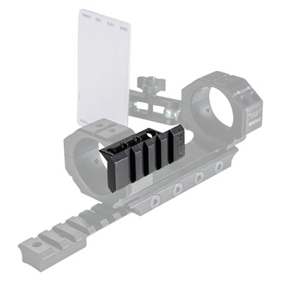 Warne Mfg. Company Skyline Precision Mount Accessory Rail - Skyline Precision Mount Accessory Rail 90 Degree