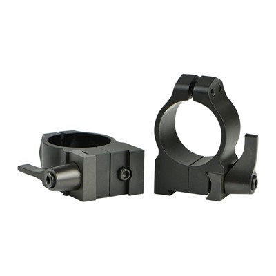 Warne Mfg. Company Cz 550 Quick Detach Scope Rings - Qd Cz 550 Rings 30mm Medium Matte