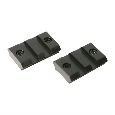 Warne Mfg. Company Browning A-Bolt 2pc Tactical Base - Browning A-Bolt Tactical Base 0 Moa Matte Black
